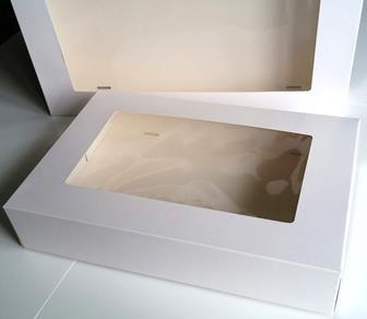 Cateringdoos wit - 360 x 250 x 80 mm