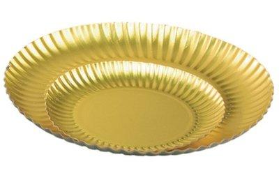 Goudborden mat Ø123 mm